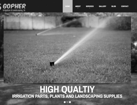 Gopher Irrigation and Landscaping